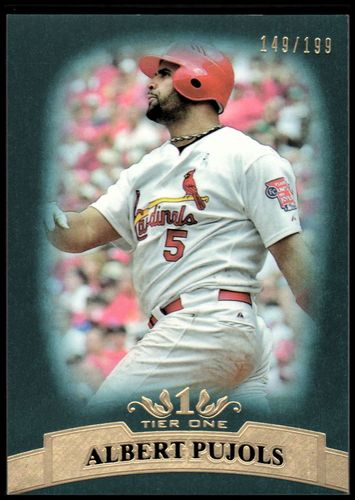 Photo of 2011 Topps Tier One Blue #10 Albert Pujols