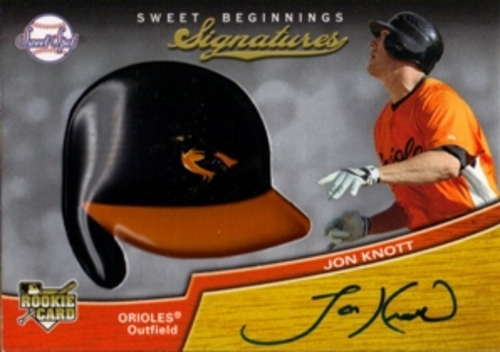 Photo of 2007 Sweet Spot #125 Jon Knott AU (RC)