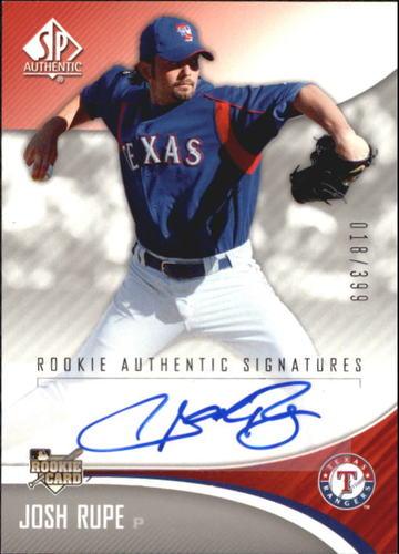 Photo of 2006 SP Authentic #233 Josh Rupe AU/399 (RC)