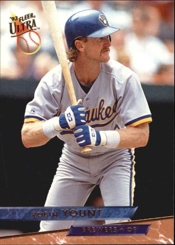 Photo of 1993 Ultra #227 Robin Yount UER/Born in Illinois,/not in Virginia