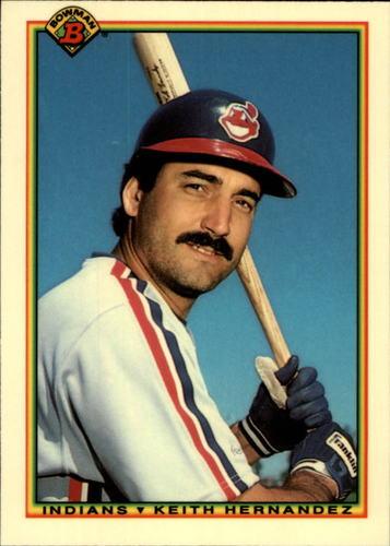 Photo of 1990 Bowman Tiffany #342 Keith Hernandez