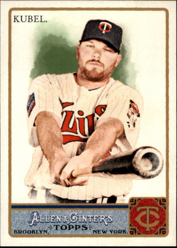Photo of 2011 Topps Allen and Ginter #224 Jason Kubel