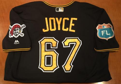 Photo of Matt Joyce Game Used Spring Training Jersey