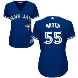 Toronto Blue Jays Women's Russell Martin Replica Alternate Jersey by Majestic