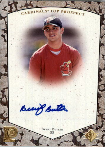 Photo of 1998 SP Top Prospects Autographs #BB Brent Butler