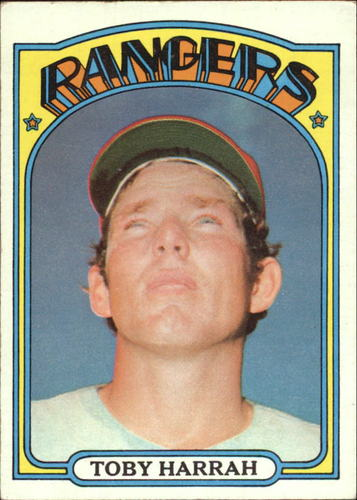 Photo of 1972 Topps #104 Toby Harrah RC