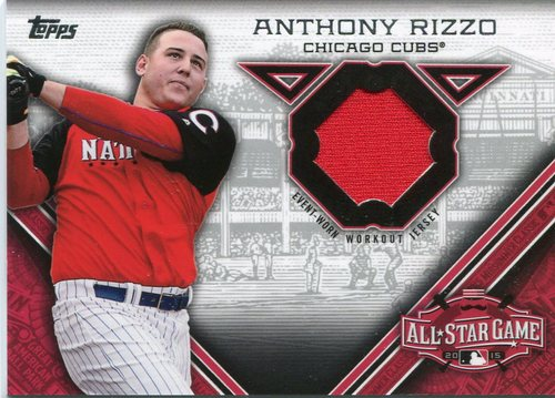 Photo of 2015 Topps Update All Star Stitches Anthony Rizzo