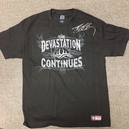 Photo of Goldberg SIGNED Authentic T-Shirt (Size L)