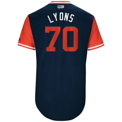 """Photo of Tyler """"Lyons"""" Lyons St. Louis Cardinals Game-Used Players Weekend Jersey"""