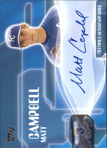 Photo of 2005 Topps Autographs #MCA Matt Campbell F2