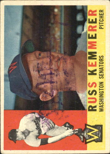Photo of 1960 Topps #362 Russ Kemmerer