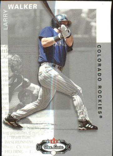 Photo of 2002 Fleer Box Score Classic Miniatures #9 Larry Walker