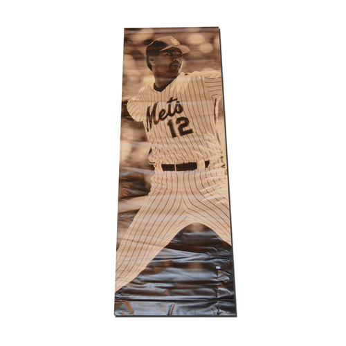 Photo of Ron Darling #12 - Citi Field Banner
