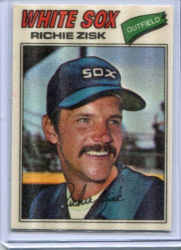 Photo of 1977 Topps Cloth Stickers #55 Richie Zisk