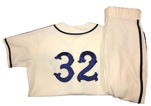Photo of Elias Diaz Game-Used Homestead Greys Jersey and Pants