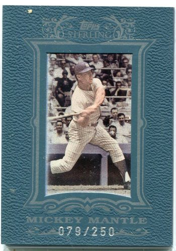 Photo of 2007 Topps Sterling #4 Mickey Mantle