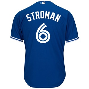 Toronto Blue Jays Cool Base Replica Marcus Stroman Alternate Jersey by Majestic