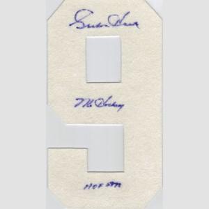 Gordie Howe Autographed Detroit Red Wings Felt Hockey Sweater Number