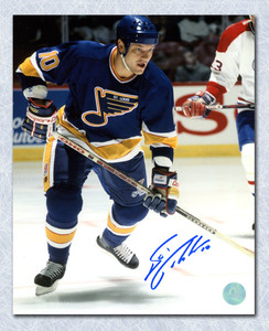Esa Tikkanen St. Louis Blues Autographed 8x10 Photo
