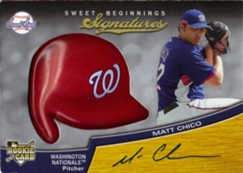 Photo of 2007 Sweet Spot #130 Matt Chico AU (RC)