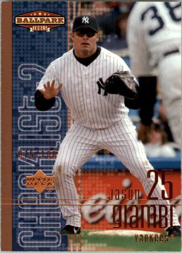 Photo of 2002 Upper Deck Ballpark Idols Bronze #200 Jason Giambi CL