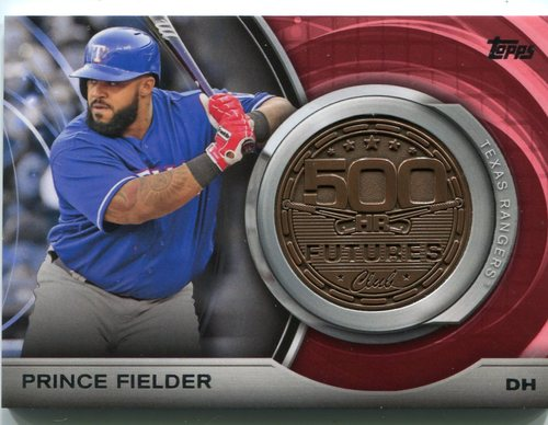Photo of 2016 Topps Update 500 HR Futures Club Medallions #500M2 Prince Fielder