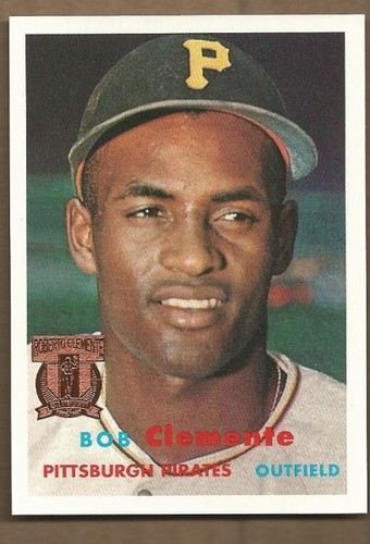 Photo of 1998 Topps Clemente #3 Roberto Clemente 1957