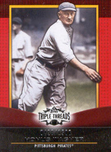 Photo of 2011 Topps Triple Threads #36 Honus Wagner