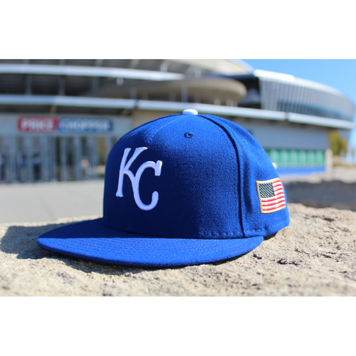 Photo of Game-Used Hat: Eric Skoglund (Size 7 1/8 - CWS at KC - 9/11/17)