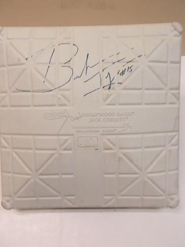 Photo of Autographed Brandon Inge Base