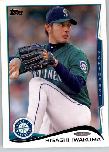 Photo of 2014 Topps #65 Hisashi Iwakuma