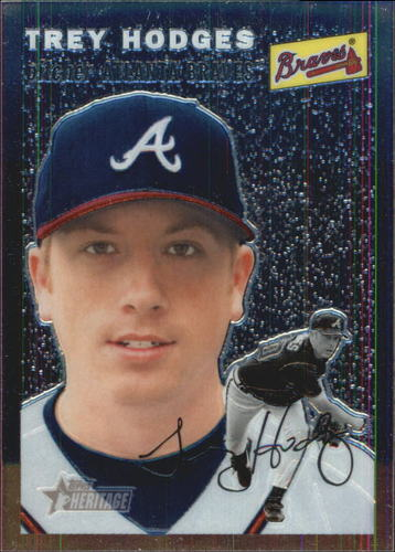 Photo of 2003 Topps Heritage Chrome #THC45 Trey Hodges