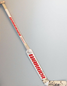 #34 Petr Mrazek Game Used Stick - Autographed - Detroit Red Wings