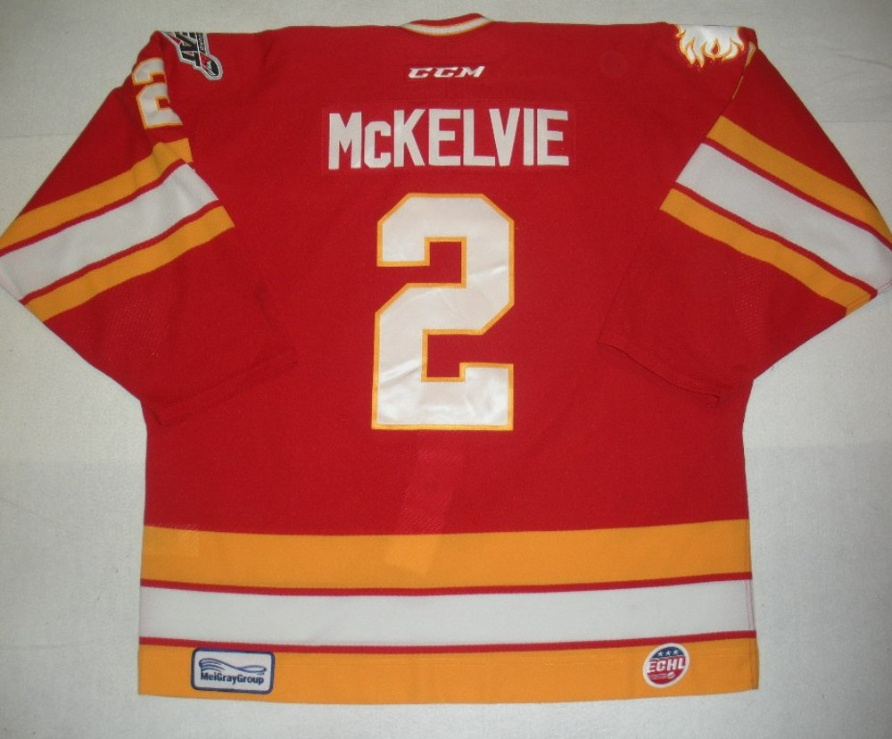 Zach McKelvie - Hockey Heritage Weekend - Alaska Aces - Game-Worn Jersey