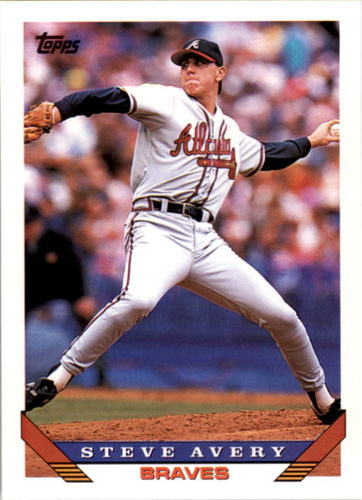 Photo of 1993 Topps #615 Steve Avery