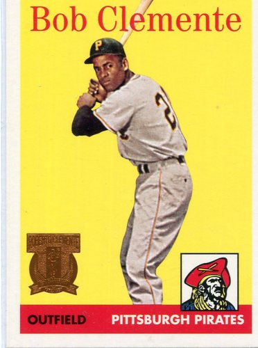 Photo of 1998 Topps Clemente #4 Roberto Clemente 1958