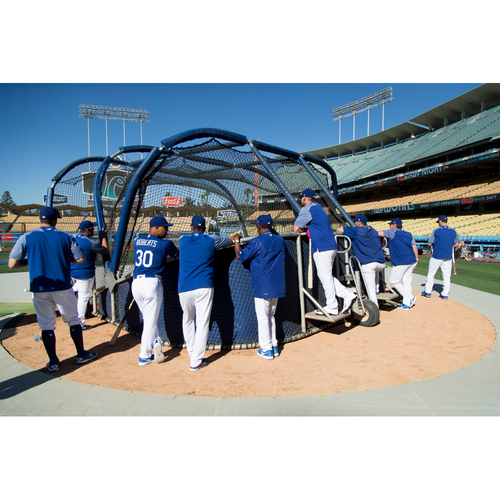 Photo of LADF Blue Diamond Gala Auction: Watch BP in front of the Dodger Dugout