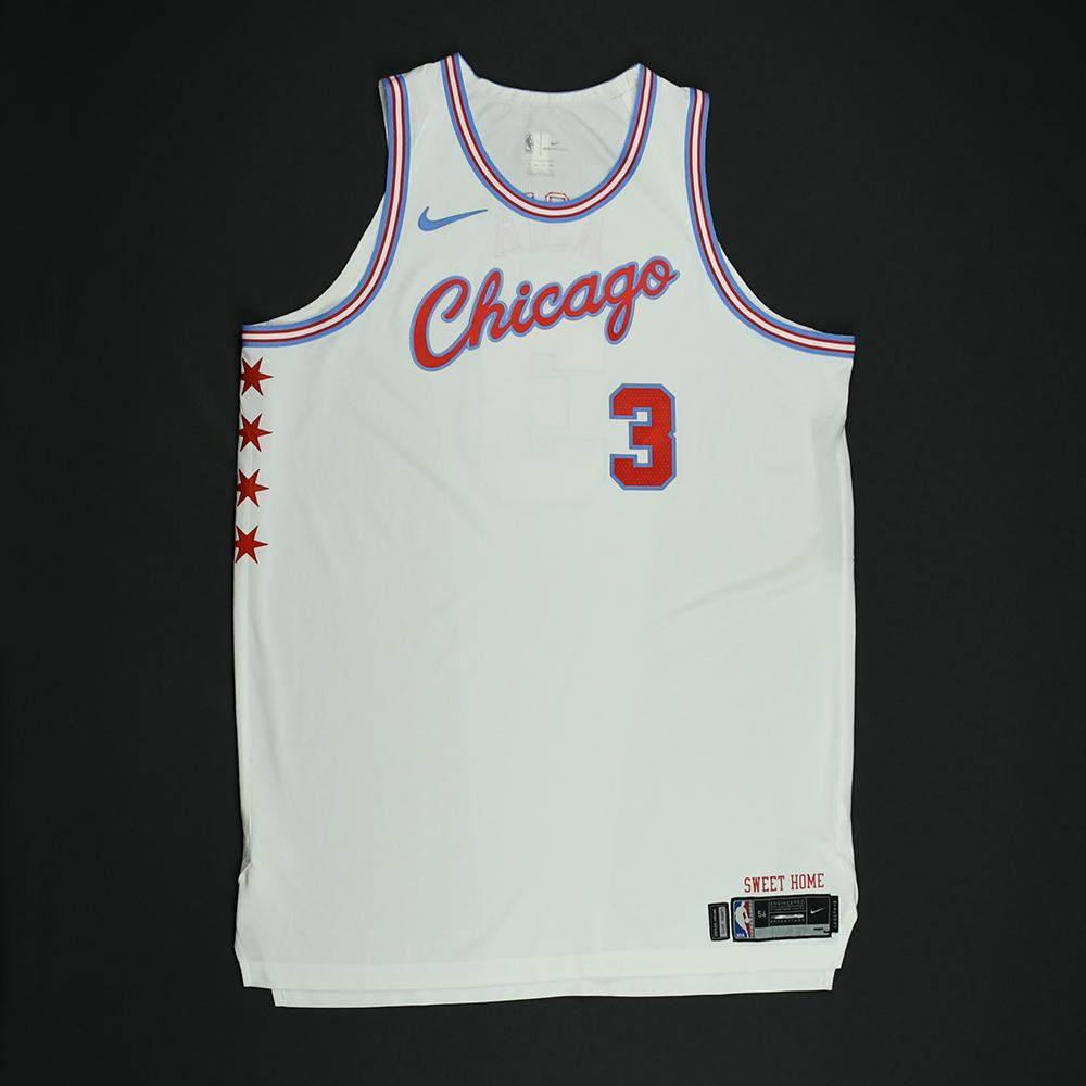 Omer Asik - Chicago Bulls - Game-Worn 'City' Jersey - 2017-18 Season