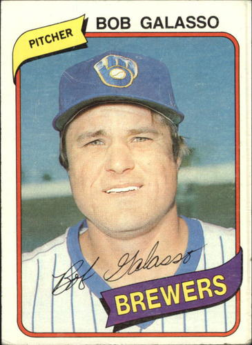 Photo of 1980 Topps #711 Bob Galasso RC
