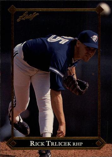Photo of 1992 Leaf Gold Rookies #BC15 Rick Trlicek