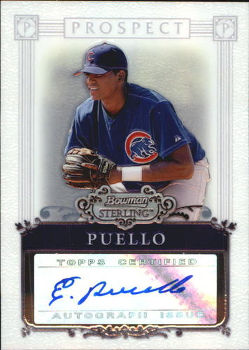 Photo of 2006 Bowman Sterling Prospects #EP Elvin Puello AU A