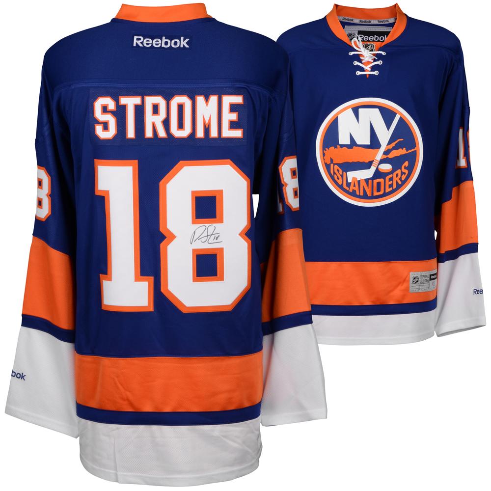Ryan Strome New York Islanders Autographed Blue Reebok Premier Jersey
