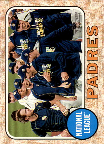 Photo of 2017 Topps Heritage #358 San Diego Padres TC