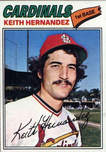 Photo of 1977 Topps #95 Keith Hernandez