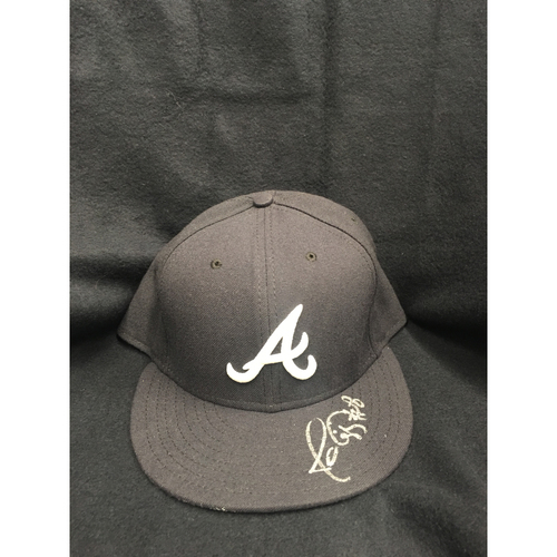 Photo of Braves Charity Auction - Javy Lopez Autographed Hat
