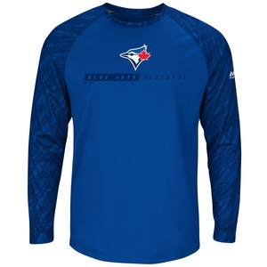 Toronto Blue Jays Strong Desire T-Shirt Royal by Majestic