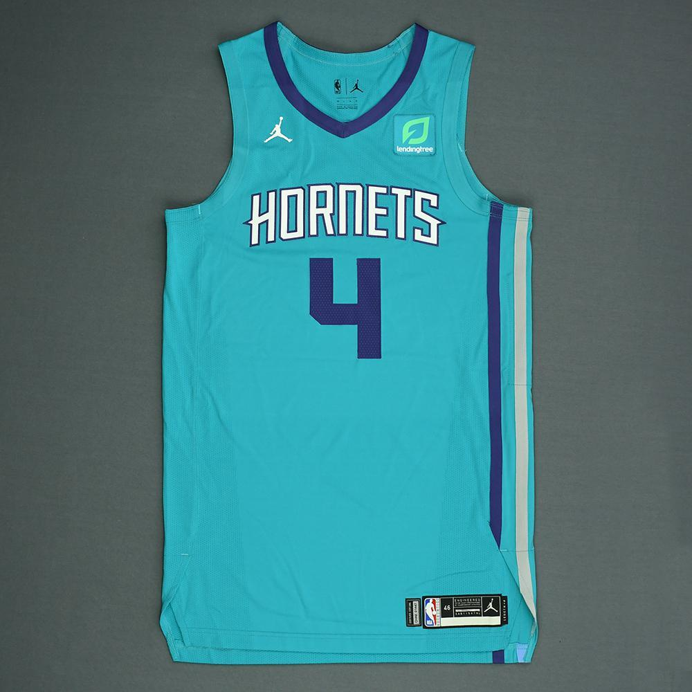 Devonte' Graham - Charlotte Hornets - 2018 NBA Draft - Autographed Jersey