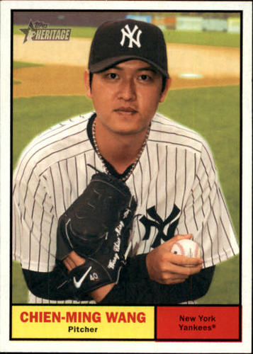Photo of 2010 Topps Heritage #424 Chien-Ming Wang