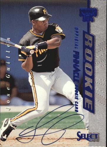 Photo of 1997 Select Rookie Autographs #1 Jose Guillen/3000