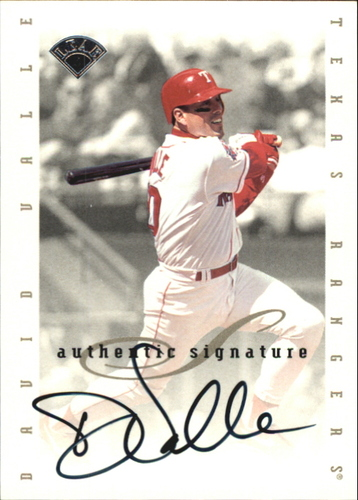 Photo of 1996 Leaf Signature Extended Autographs #206 Dave Valle